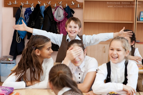 Фотозарисовка из жизни юных школьников, 2012