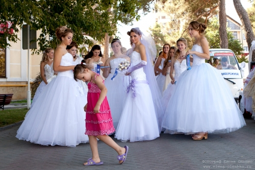 Парад невест в Геленджике, 2015