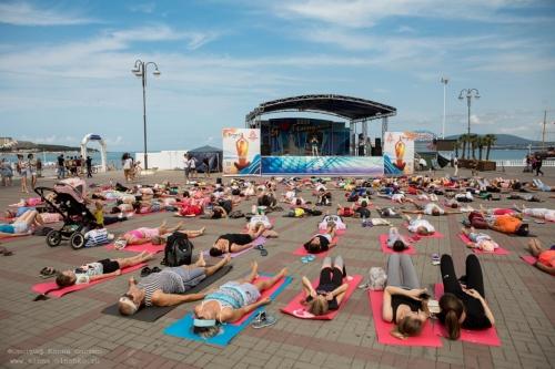 День йоги в Геленджике, 2019