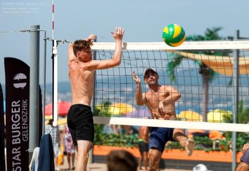 Волейбольный турнир на день города. Геленджик, 2019