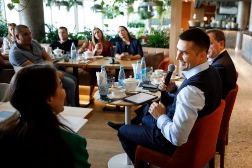 Бизнес-завтрак, организованный журналом «Человек Дела», Кубань.  Геленджик, октябрь 2019.