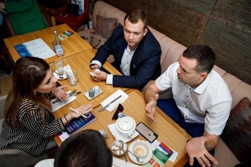 """Бизнес-завтрак, организованный журналом """"Человек Дела"""", Кубань"""
