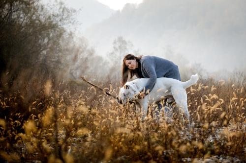 Фотопрогулка Юля и Дизель