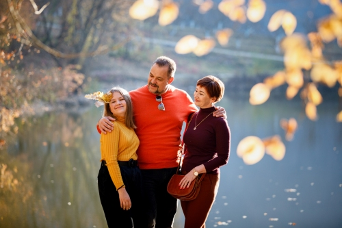 Осенняя семейная фотопрогулка