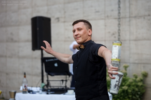 """Бармен-шоу на фестивале """"Star wings"""" 2019"""