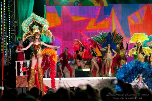 Карнавал в Геленджике, 2011
